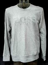 Mens Grey Hugo Boss Round Neck Jumper Size XL Slim Fit  Lot FC31