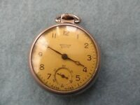 Westclox Scotty Vintage Mechanical Wind Up Pocket Watch