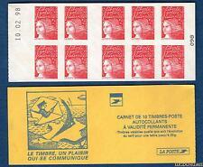 Carnet - 3085 C3 - Type Marianne du 14 Juillet - Date 10-02-98 - TVP rouge N° 30