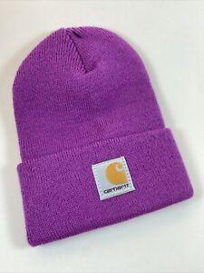 CARHARTT TODDLER Baby Beanie   Willowherb   Purple Cap Hat 100% Authentic NEW