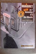 BD maigret n°4 èt l'danseuse d'a gai-moulin EO wallon liègeois 1994 TBE simenon