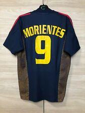 Spain Espana 2002-2004 Morientes #9 Third Football Soccer Vintage Shirt Jersey S