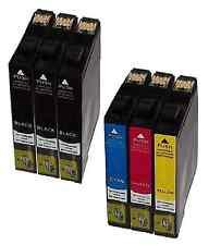 6 DruckerPatronen Tinte für EPSON STYLUS BX305F BX305FW SX125 SX420W SX130 SX425