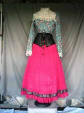 Victorian Dress Womens Edwardian Costume Civil War Reenactment Western Gypsy