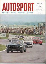 Autosport August 19th 1966 *New Honda F1 Car & 4WD Ferguson R5*