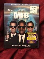 New listing Mib 3 Men in Black 3 Blu Ray 3D / Blu Ray / Dvd Lenticular Case Will Smith Clean