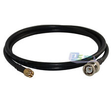 3ft BNC male plug to SMA male plug Antenna Coax Pigtail Jumper cable RG58 1pc