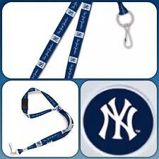 ⚾️NewYork Yankees MLB Lanyard Clip Neck Tag Keychain for ID Keys Ticket Holder⚾️