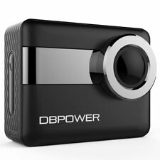 DBPOWER N6 WiFi 4K 170° Wide-Angle Waterproof Touchscreen Sport Action Camera