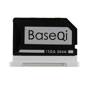 "BASEQI Aluminum miniDrive:MicroSD Adapter for Macbook Pro Retina 15"" (iSDA504A)"