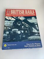 British Rails Mayfair 1984 Railroad Train Board Game