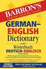 BARRON'S GERMAN-ENGLISH DICTIONARY - MARTINI, URSULA (EDT)/ WIRTH, CHRISTIANE, D