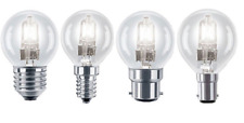 Eveready Halogen Energy Saving Golf Ball Bulbs (20w=25w 33w=40w 48w=60w)
