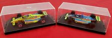 Lot Of 2 Onyx 1/43 Models Indy Race Car Collection Menards Glidden Conseco