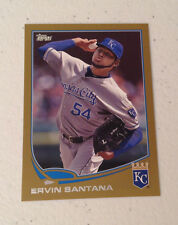 2013 Topps Mini ERVIN SANTANA GOLD #55/62 Made Royals #366 Online Exclusive