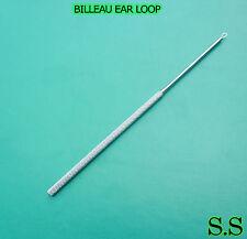 "6 PIECES OF BILLEAU EAR LOOP SIZE 6.50"" MEDIUM ENT SURGICAL INSTRUMENTS"