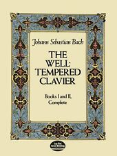 The Well-Tempered Clavier: Books I and II, Complete by J. S. Bach (Paperback,...