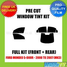 FORD MONDEO 5-DOOR 2000-2007 (MK3) FULL PRE CUT WINDOW TINT KIT