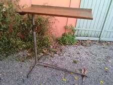 table pupitre ecritoire servante industriel ,en tube metallique prouvé ?