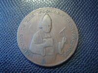 UK / 1/2 PENNY TOKEN / SUCCES TO THE WOOLLEN / 1792