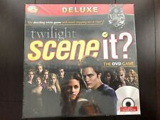 NEW Factory Sealed Deluxe Twilight Scene It? DVD Game -