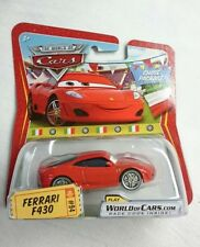 DISNEY PIXAR CARS FERRARI F430 RED CHASE RARE DIECAST MINT FIRM
