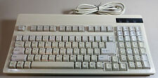 Unitech K270-PS/2 Space Saver Compact Key Keyboard White PS/2 Tested Used