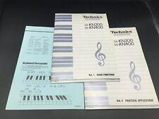 Original Technics SX-KN200 SX-KN400 Keyboard Owners Instruction Manual