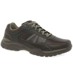 Skechers Rovato Texon Mens Casual Lace Up Shoes