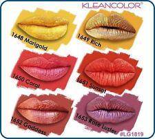 ( 6 PCs set ) Kleancolor Madly Matte Metallic Liquid Lip Gloss Lipstick LG1819