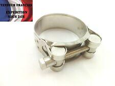 Collier de serrage INOX 44 / 47 mm, haut de gamme, VENDEUR FRANCAIS