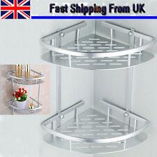 Shampoo Basket Shower Shelf Bathroom Corner Rack Caddy Storage Holder Hanger UK