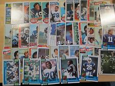 Indianapolis Colts 614 Card Lot Marshall Faulk Andrew Luck Marvin Harrison Stars