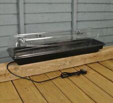 More details for factory second - jumbo windowsill heated plant propagator (80cm)