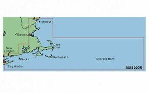 Garmin BlueChart CAPE COD MUS003R Data Card Marine Navigation Map Chip