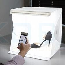 UK 40 x 40cm Fold-able Photo Mini Light Box Studio Tent Home Photography LED