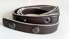 """PRADA Brown Skinny Belt Adjustable 28-32"""" - IN SALE!"""