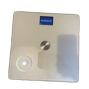 Withings Body+ - Wi-Fi Body Composition Smart Scale WHITE