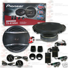 "PIONEER TS-A1606C 6.5"" 2-WAY CAR AUDIO COMPONENT SPEAKER SYSTEM (PAIR)"