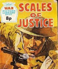 A Fleetway War Picture Library Pocket Comic Book Magazine #1056 SCALES OF JUSTIC