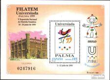 Spanje Blok 75 postfris 1999 Stamp Exhibition