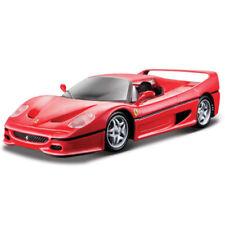 Artículos de automodelismo y aeromodelismo color principal rojo Ferrari de escala 1:24