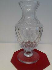 Large Antique Vase Crystal Certificate Sevres Crystal France Signed