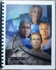 """Stargate SG-1 Fanzine """"Redemption 1, 2, 3, 4, 5, 6, 8, 14"""" GEN"""