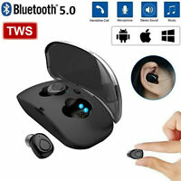 2019 Bluetooth 5.0 Headset Wireless Earphones Mini Earbuds Stereo Headphones