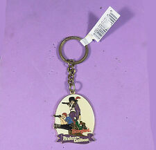 Disneyland Park Pirates of the Caribbean Metal Keychain circa 1990s