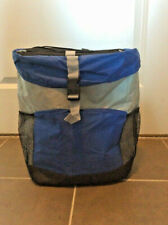 Insulated Backpack Carry Hiking Cooler Foldable Blue NEW