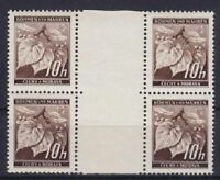 Böhmen & Mähren Mi Nr. 21 ZW **, 2x Einheit, 1939 / 1942, postfrisch, MNH