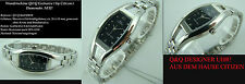 "Q&Q Women's Watch "" Exclusive Design "" Complete Stainless Steel Sporty Elegant"