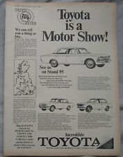 1970 Toyota Original advert No.1
